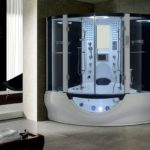 Modern Shower Solutions with a Sit-in Shower Booth