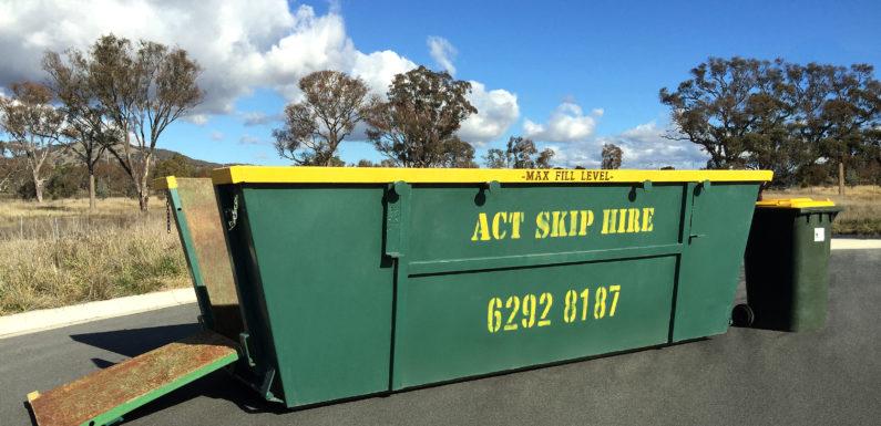 What cannot be put in a Skip Bin?