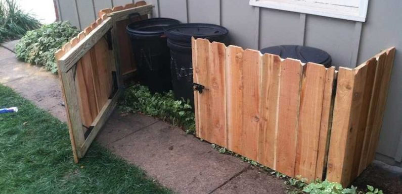 3 Simple Ways To Conceal Garbage Cans in Your Outdoor Space